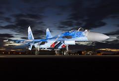 SU-27P 58 CLOFTING IMG_9646 FL (Chris Lofting) Tags: sukhoi su27 su27p 831 riat egva fairford ukrainian air force