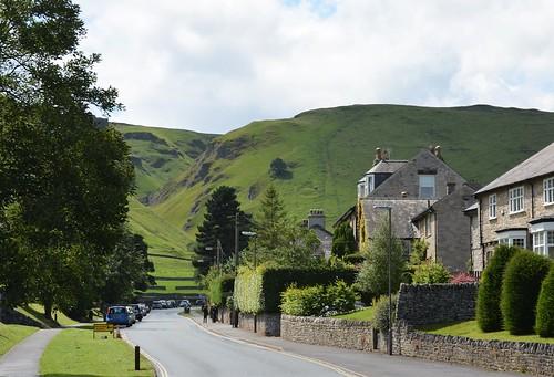 Winnats Pass from Castleton.