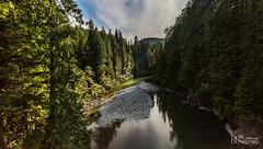 Gordon River2, Port Renfrew, British Columbia, Canada. (Don Dunning) Tags: britishcolumbia canada canadianprovince clouds gordonriver portrenfrew vancouverisland water ca