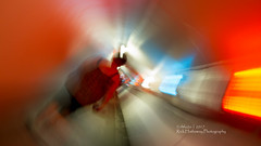 Tunnel of light (rhfo2o - rick hathaway photography) Tags: rhfo2o canon canoneos7d brandshatch brands kent racing minifestival light tunnel blur intententionalcameramovement icm trackday