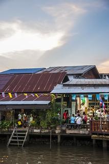 marché flottant amphawa - thailande 16