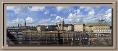 Suède, Svealand, Stockholm, Stadsholmen (chatka2004) Tags: suède svealand stockholm panorama largepanorama stadsholmen