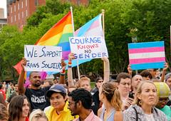 2017.07.29 Stop Transgender Military Ban, Washington, DC USA 7734