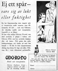 Odorono Deodorant, 1931 (negative four) Tags: husmodern 1930s 1931 advertising illustration odorono deodorant