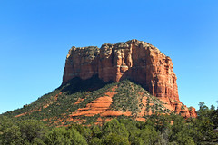 Red Rock-Yavapai Point-Sedona Arizona 01694 (Emory Minnick) Tags: sedonaarizona redrockbute redrockcountrysedona