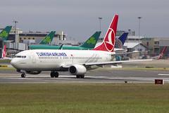 TC-JVK | Turkish Airlines | Boeing B737-8F2(WL) | CN 60014 | Built 2016 | DUB/EIDW 16/06/2017 (Mick Planespotter) Tags: aircraft airport 2017 nik sharpenerpro3 tcjvk turkish airlines boeing b7378f2wl 60014 2016 dub eidw 16062017 b737 collinstown dublinairport