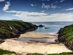 Porth Iago (jrose45) Tags: beach coast sea water ocean sand landscape solitude cove wales gwynedd secluded porthiago