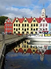 Reflections in Tórshavn (Jaedde & Sis) Tags: tórshavn føroyar reflection harbour waterfront water friendlychallenges 15challengeswinner storybookwinner challengefactorywinner thechallengefactory beginnerdigitalphotographychallengewinner bdpc