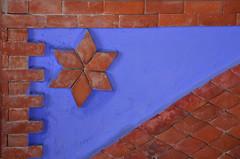 Brick Detail (ronniegoyette) Tags: bluetown chefchaoun march2017 moroccovacation bricks