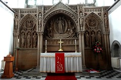 [52427] Horsforth : High Altar & Reredos (Budby) Tags: horsforth church leeds westyorkshire altar reredos