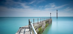 St Lawrence Kent (Bobbybinz) Tags: nikon d800e long exposure slow ramsgate st lawrence kent groyne post