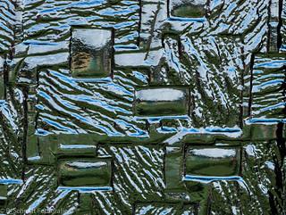 Glasscheibe / pane   #textures  #MacroMondays