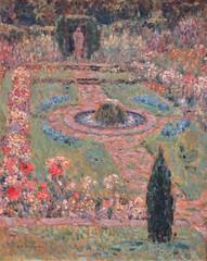 Jardin à Hampton Court, Henri Le Sidaner - Musée des Beaux-Arts, Valenciennes (59) (Yvette G.) Tags: valenciennes nord 59 hautsdefrance nordpasdecalais musée muséedesbeauxarts henrilesidaner jardin hamptoncourt