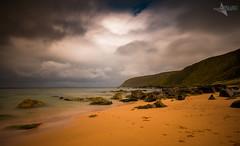 Kinnego (Mr Bultitude) Tags: donegal rain summer july kinnego inishowen ireland long exposure cliffs secluded bay seascape