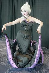 D23-V 0266 (Photography by J Krolak) Tags: cosplay costume masquerade d23 disney mousquerade d23expo ursula littlemermaid anaheim california usa d232017disneyfanexpo