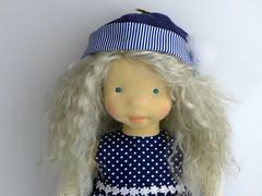 """GAYLE 19 """" doll (Dearlittledoll) Tags: waldorf waldorfdoll dearlittledoll limbeddoll knitting makingdoll children clothdoll slowdoll slowdollmaking dollmaker"""