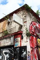 Spitalfields (NovemberAlex) Tags: clouds london urban spitalfields graffiti