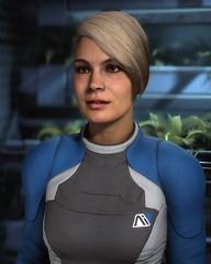Cora (Den7on) Tags: mass effect andromeda cora harper lieutenant human biotic tempest arts electronic bioware