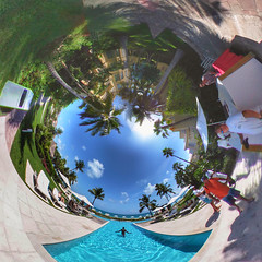 Tiny Planet of Grace Bay Club in Providenciales, Turks and Caicos Islands