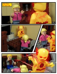 Allen Home 15 Years Ago (MrKjito) Tags: lego minifig super hero comic comics eobard thawne barry allen home 15 years ago it was me nora flash reverse dc speed force flashpoint