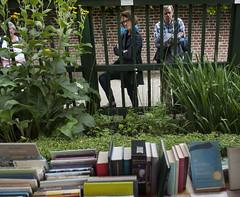 Zaterdag in de Prinsentuin: bezoekers en boeken