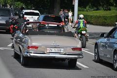Mercedes-Benz 280 SE - Switzerland, Zürich (Helvetics_VS) Tags: licenseplate switzerland zürich oldcars mercedes sklasse 280se