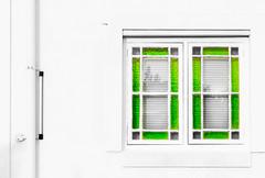 Green Glass (Daniela 59) Tags: 100x2017 100xthe2017edition image88100 theworldaroundme window windowwednesdays wall white pipe green greenglass mcgregor westerncape southafrica danielaruppel