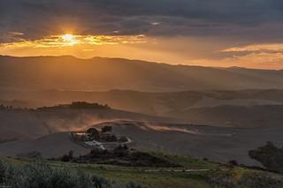 *Volterrana @ sunset*