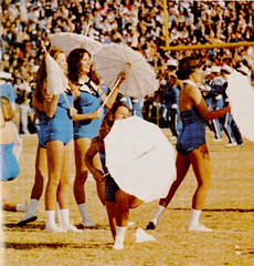 Kentucky Football 1978 Majorettes (Jbsbbailey) Tags: kentucky football 1978 homecoming wildcats commonwealth stadium band majorettes majorette halftime vanderbilt vandy fran curci