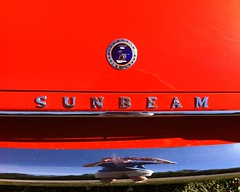 Sunbeam Alpine (Will-Jensen-2020) Tags: sunbeam alpine red chrome hood ornament group rootes