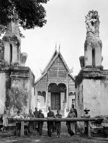 Wat Phra Sing 1934 Joseph Rock