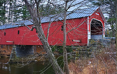 Cresson Covered Bridge (walter_g) Tags: sonya6000 minoltamc24mmf28 rawtherapee gimp295 nikcolorefexpro