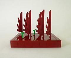 Landscape (Galerie d'Antha) Tags: lego paysage landscape darkred