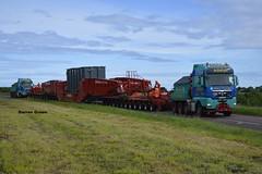 ALLELYS HEAVY HAULAGE MAN TGX PUSH AND PULL (denzil31) Tags: allelys heavyhaulage push and pull grider trailer transformer move t700 ahh man tgx 680 v8 mantrucks sse buckie blackhillock substation stgocat3 goldhofer trailers
