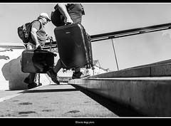 ...fatica... (magicoda) Tags: italia italy magicoda foto fotografia venezia venice veneto bw persone people maggidavide davidemaggi passione passion voyeur calle calli candid bianco nero white black 2017 wife upskirt tourists donna woman long blur mosso fast veloce calatrava ponte bridge movement scarpe shoe barefoot gambe legs classic friends streetart fuji fujifilm x100 x100t mirrorless feet valigia bag fatica fatigue suitcase cappello hat caldo hot