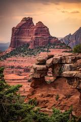 Sedona-5569-HDR (Michael-Wilson) Tags: michaelwilson sedona arizona southwest arch mountains trees red