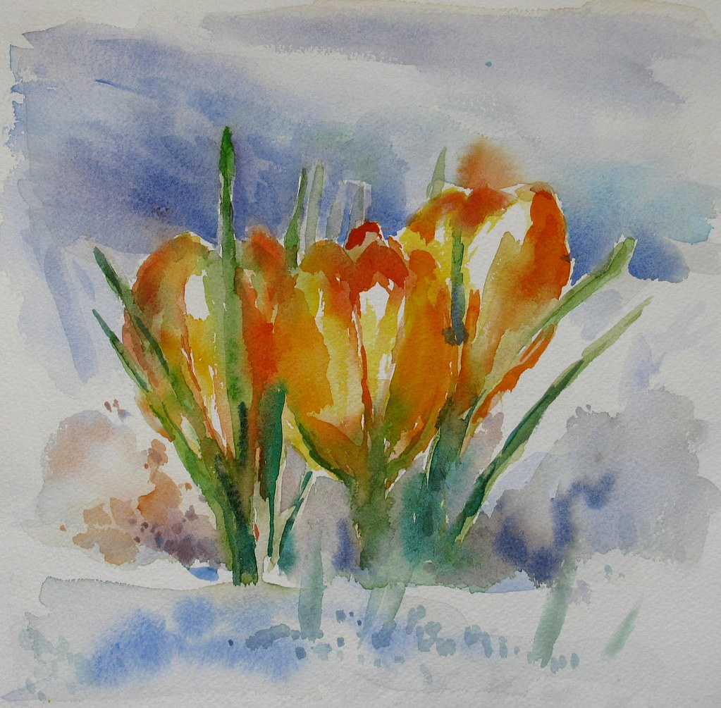 The world 39 s most recently posted photos of aquarelle and for Aquarelle fleurs