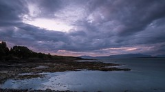 Broadford Bay (Ralph Rozema) Tags: broadfordbay broadford skye scotland ocean sunset blue