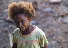 Ni-Vanuatu girl with blonde hair, Sanma Province, Espiritu Santo, Vanuatu (Eric Lafforgue) Tags: a0011678 blondehair child childhood colourimage confident cute day espiritusanto ethnic girl girls horizontal indigenousculture lookingatcamera melanesia newhebrides nivanuatu oceania onegirlonly oneperson outdoors pacific pacificislands people portrait smile southpacific tourism traveldestinations tribal tribe vanuatu sanmaprovince vut
