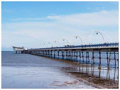 Southport Pier #1 (jason_hindle) Tags: unitedkingdom olympusvf4 olympus40150 southportpier olympuspenep5 southport pier