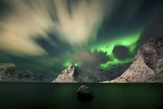 Aurora from Lofoten Islands