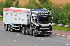 Westfield WK17 BOF Bulk Haulage 25th July 2017 (asdofdsa) Tags: hgv haulage transport trucks travel motorway m62 goole langhamjunction rawcliffebridge 17plate bulkhaulage tipper
