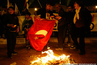 Greece: Protest against the visit of the Turkish prime minister to Athens