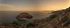 Isla de la Terrosa. Cartagena. (Amparo Hervella) Tags: cartagena isladelaterrosa españa spain paisaje panorámica mar agua atardecer puestadesol roca nube largaexposición d7000 nikon nikond7000 comunidadespañola