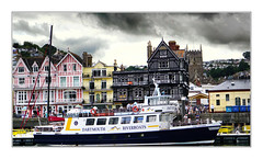 Dartmouth Riverboat (Mike Carter) Tags: dartmouth devon river boat riverboat