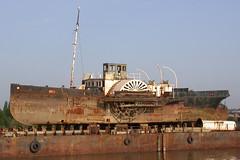 Steam Paddle Tug, R. Medway. (piktaker) Tags: kent medway paddletug johnhamos rivermedway medwaymaritimetrust chatham tug boat steamtug