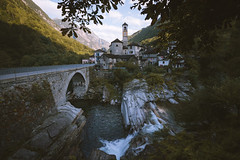 Little Italy in Switzerland. (Bokehm0n) Tags: landscape nature vsco explore flickr earth travel folk 500px sunrise water reflection river light architecture tree bridge fall wood waterfall mountain stream outdoors daylight environment scenic no person switzerland