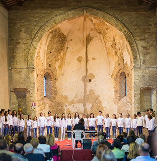 School Choirs at Montalto delle Marche, May 2017