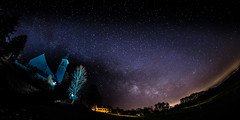 The Tree - New Moon Milky Way March 2017 - No. 6 (*Capture the Moment* (back 4 September)) Tags: 12mm 2017 alxing church f28 fotowalk kirche milchstrasse milkyway sonya7mii sonya7mark2 sonya7ii sonyilce7m2 walimexpro