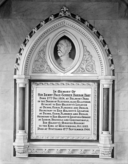 Monument to Sir Henry Barron. : commissioned by The Marquis de Pons